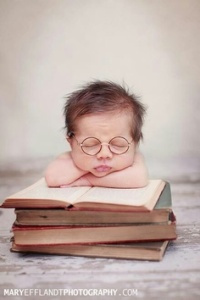 Smartest baby ever.